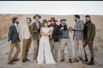 The Dustbowl Revival formal photo of the dustbowl revival