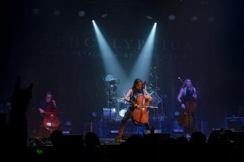 An Evening with Apocalyptica – Plays Metallica By Four Cellos