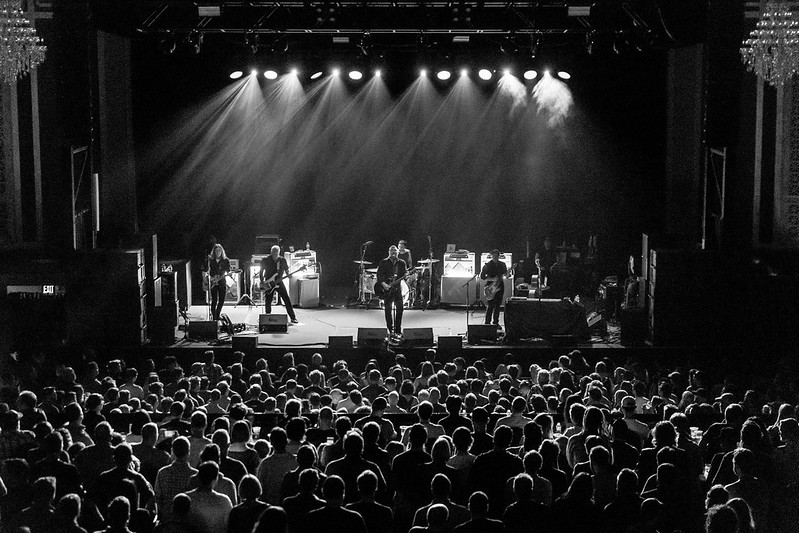 Built To Spill & The Afghan Whigs Built To Spill & The Afghan Whigs on stage
