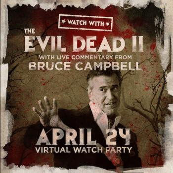 Evil Dead 2 Livestream with Live Commentary by Bruce Campbell