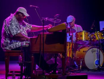 Melvin Seals & JGB w/ special guests Lebo & Friends ft. Lester & Dylan Chambers, Roger McNamee, Steve Adams, Mark Karan, Lesley Grant & more Melvin Seals & JGB performing at The UC Theatre