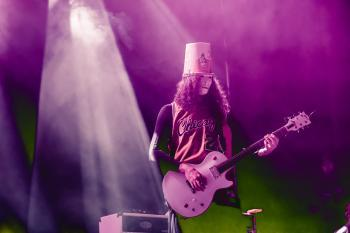 Buckethead with Brain and Brewer