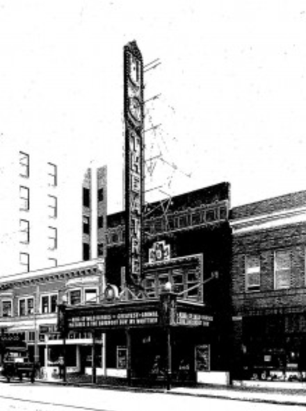 The UC Theatre in 1930