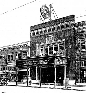 The UC Theatre in 1917